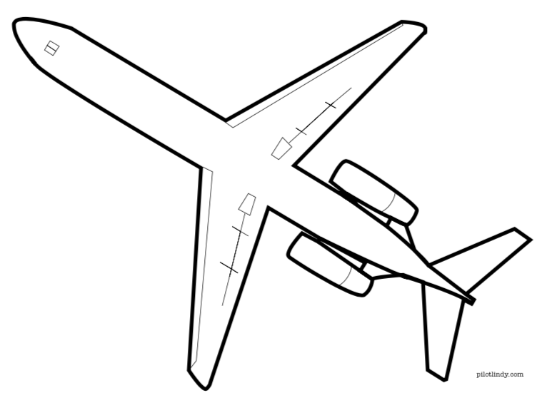 B717 Coloring Page